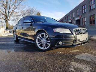 Used 2011 Audi S4 Premium / Supercharged for sale in Woodbridge, ON