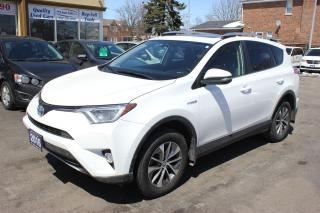 Used 2016 Toyota RAV4 XLE HYBRID for sale in Brampton, ON