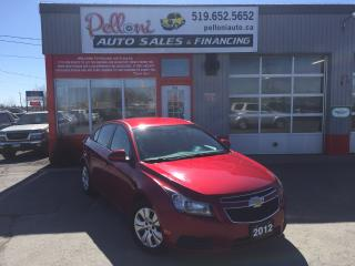 Used 2012 Chevrolet Cruze LT TURBO W/ REMOTE START for sale in London, ON