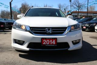 Used 2014 Honda Accord SPORT BACKUP CAMERA BLUETOOTH ALLOYS ACCIDENT FREE for sale in Brampton, ON