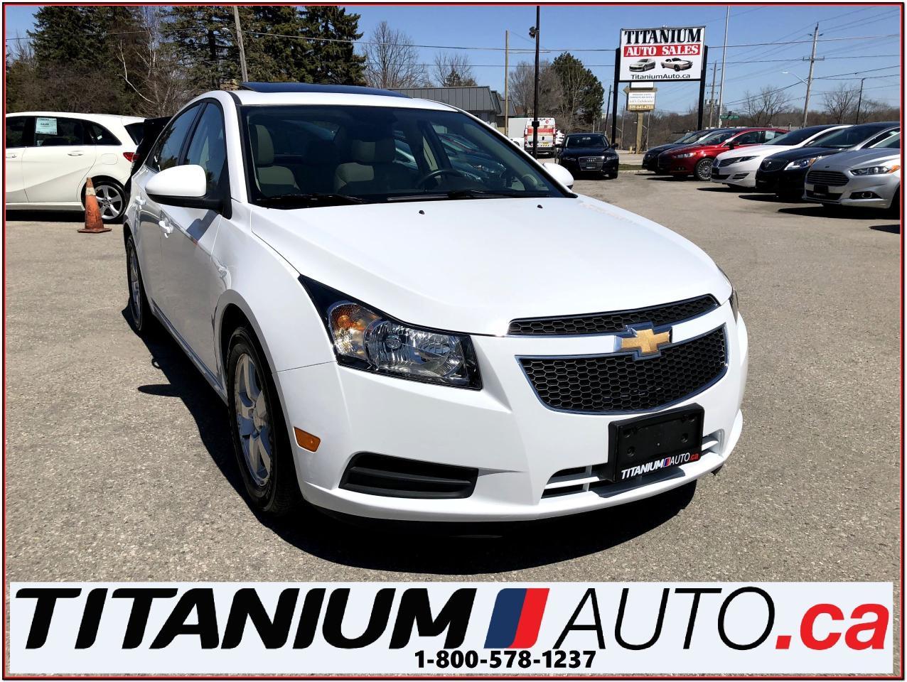 2014 Chevrolet Cruze 2-LT+Camera+Sunroof+Heated Leather Power Seat+XM++