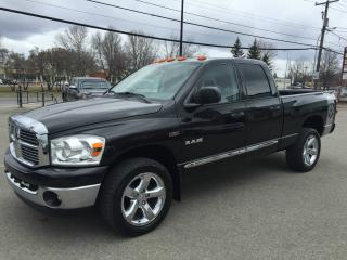 Used 2008 Dodge Ram 1500 SLT QUAD CAB HEMI 4X4 for sale in Laval, QC