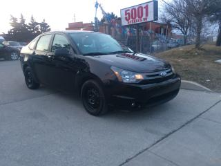 Used 2010 Ford Focus SES,LEATHER,S/R,89KM,SAFETY+3YEARS WARRANTY INCLUD for sale in North York, ON
