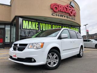 Used 2017 Dodge Grand Caravan Crew PlusLTHR REAR CAM H-TED SEATS NAVI for sale in Scarborough, ON