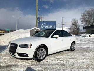 Used 2013 Audi A4 Premium for sale in Chateau-richer, QC