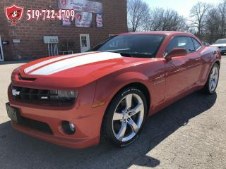 Used 2010 Chevrolet Camaro 2SS/CERTIFIED/WARRANTY INCLUDED for sale in Cambridge, ON