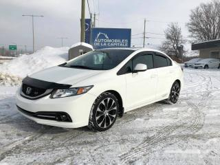 Used 2013 Honda Civic SI for sale in Chateau-richer, QC
