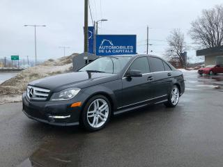 Used 2012 Mercedes-Benz C250 4Matic for sale in Chateau-richer, QC