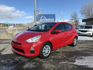 Used 2014 Toyota Prius C for sale in Chateau-richer, QC