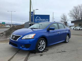 Used 2013 Nissan Sentra SR for sale in Chateau-richer, QC