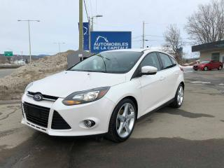 Used 2013 Ford Focus Titanium for sale in Chateau-richer, QC