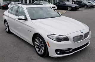 Used 2014 BMW 528 Xdrive Very Low Mileage for sale in Dorval, QC