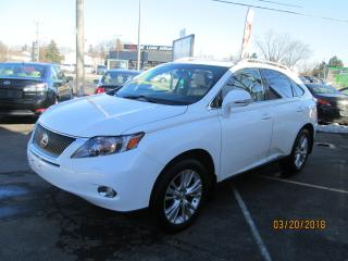 Used 2012 Lexus RX 450h LEATHER for sale in Scarborough, ON