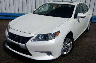 Used 2015 Lexus ES 350 *LEATHER-SUNROOF* for sale in Kitchener, ON