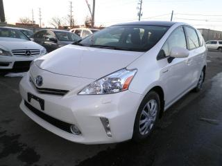 Used 2013 Toyota Prius v V-LEATHER for sale in Brampton, ON