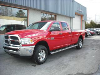 Used 2015 Dodge Ram 2500 4 RM, Cabine multiplaces,, SLT for sale in Repentigny, QC