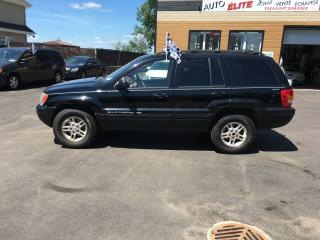 Used 2000 Jeep Grand Cherokee Limited 4 portes, quatre roues motrices for sale in Saint-sulpice, QC