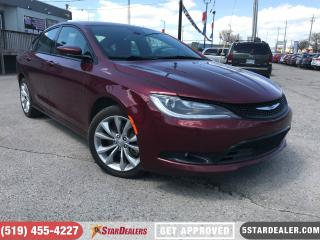 Used 2015 Chrysler 200 S | AWD | V6 | CAM | HEATED SEATS for sale in London, ON