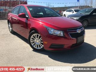 Used 2011 Chevrolet Cruze ECO | CAR LOANS FOR ALL CREDIT for sale in London, ON