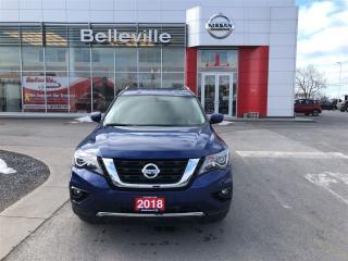 Used 2018 Nissan Pathfinder SV Tech for sale in Belleville, ON