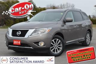 Used 2014 Nissan Pathfinder SL AWD LEATHER NAV HTD SEATS REAR CAM LOADED for sale in Ottawa, ON