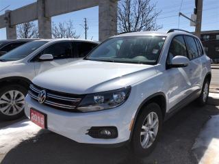Used 2015 Volkswagen Tiguan Trendline, low mileage, clean carproof for sale in Scarborough, ON