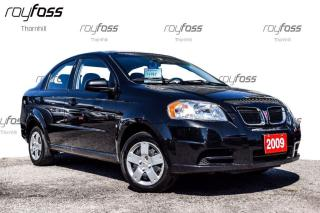 Used 2009 Pontiac G3 Wave Air Manual Transmission only 49925 Km's for sale in Thornhill, ON