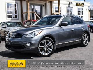 Used 2011 Infiniti EX35 AWD NAVIGATION & PREMIUM PACKAGES LEATHER ROOF for sale in Ottawa, ON