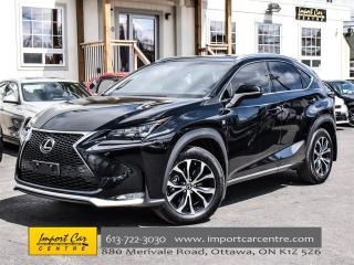 Used 2016 Lexus NX 200t AWD F SPORT NAVI H&V SEATS SAVE $$$ 2 NEW!!! for sale in Ottawa, ON