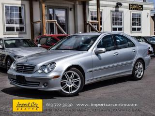 Used 2007 Mercedes-Benz C-Class 3.0L AVANTGARDE LOW KMS LEATHER ROOF for sale in Ottawa, ON