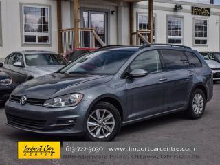 Used 2015 Volkswagen Golf Sportwagon Trendline RARE 6 SPEED HTD SEATS BK.CAMERA ALLOYS for sale in Ottawa, ON