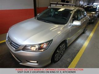 Used 2014 Honda Accord Sedan Sport | CAMERA | BLUETOOTH | XENON for sale in Kitchener, ON