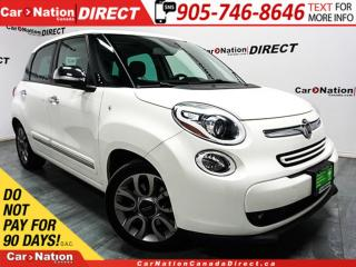 Used 2015 Fiat 500 L Lounge| NAVI| LEATHER| PANO ROOF| for sale in Burlington, ON