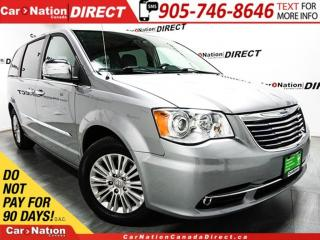 Used 2015 Chrysler Town & Country Limited| DUAL DVD| SUNROOF| NAVI| LEATHER| for sale in Burlington, ON