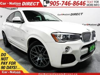 Used 2015 BMW X4 xDrive35i| M PACKAGE| SUNROOF| NAVI| for sale in Burlington, ON