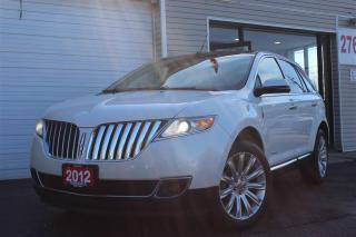 Used 2012 Lincoln MKX LTD Panoramic. Navigation. Camera for sale in North York, ON