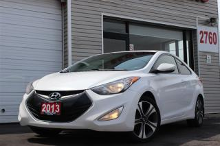 Used 2013 Hyundai Elantra LTD. Coupe. Navigation. Leather. Roof for sale in Toronto, ON