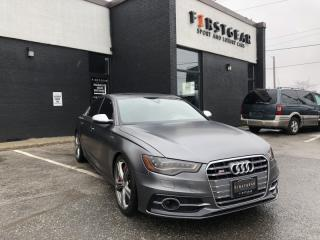 Used 2013 Audi S6 Accident free|Technik|B&O|Drive assist|Night vision for sale in North York, ON