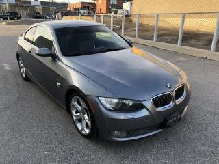 Used 2007 BMW 3 Series 335i Coupe I MANUAL I LEATHER for sale in North York, ON