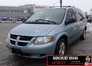 Used 2003 Dodge Grand Caravan Sport |SPORT|AS-IS SUPERSAVER| for sale in Scarborough, ON