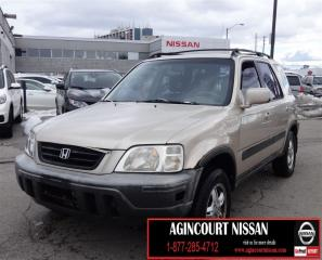 Used 2001 Honda CR-V EX |AS-IS SUPERSAVER| for sale in Scarborough, ON