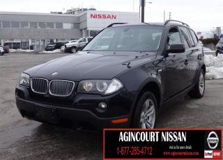Used 2008 BMW X3 3.0i LEATHER|SUNROOF|AS-IS SUPER SAVER for sale in Scarborough, ON
