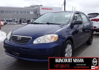 Used 2007 Toyota Corolla CE SUNROOF|CE|AS-IS SUPERSAVER| for sale in Scarborough, ON