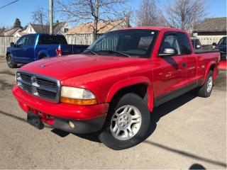 Used 2002 Dodge Dakota Sport SELLING AS IS!! LOCAL TRADE IN!! for sale in St Catharines, ON