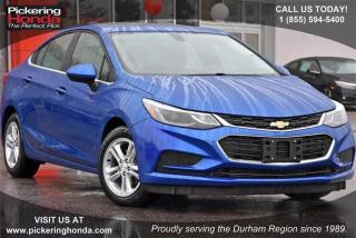 Used 2017 Chevrolet Cruze LT - 6AT for sale in Pickering, ON
