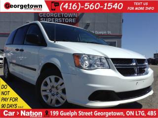 Used 2016 Dodge Grand Caravan SE/SXT  | CLEAN CARPROOF | DUAL CLIMATE | for sale in Georgetown, ON