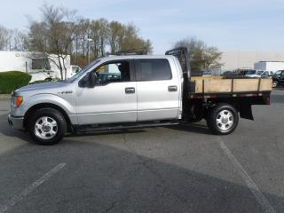 Used 2013 Ford F-150 XL SuperCrew Flat Deck 4WD for sale in Burnaby, BC