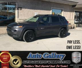 Used 2017 Jeep Cherokee High Altitude *4X4 for sale in Winnipeg, MB