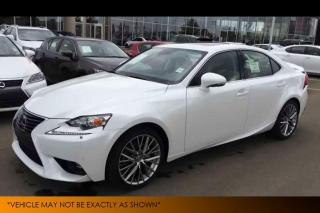 Used 2015 Lexus IS 250 Heated/Cooled Seats Backup Cam for sale in Winnipeg, MB