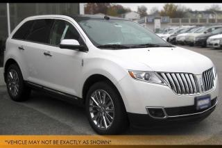 Used 2014 Lincoln MKX Navi Pano Roof Backup Cam AWD for sale in Winnipeg, MB
